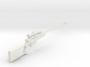 1:6 Zastava Black Arrow M93 in White Natural Versatile Plastic