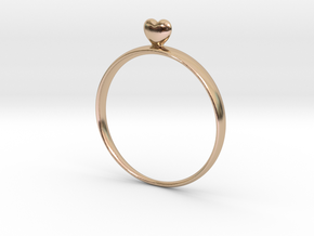 Loving You (size 60) in 14k Rose Gold