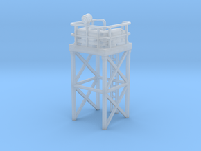 Watchtower for wargames in Smooth Fine Detail Plastic
