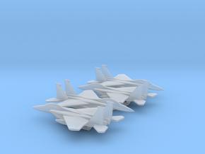 McDonnell Douglas F-15E Strike Eagle in Smooth Fine Detail Plastic: 1:600