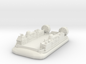 LCAC Hovercraft Vehicle 1/220 in White Natural Versatile Plastic