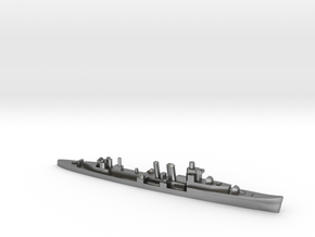 HMS Colombo 1:1800 WW2 naval cruiser in Natural Silver