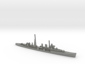 HMS Colombo (masts) 1:1800 WW2 naval cruiser in Gray PA12