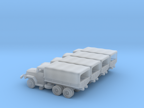 4 X 1/220 M35 2.5 ton Cargo Truck in Smooth Fine Detail Plastic