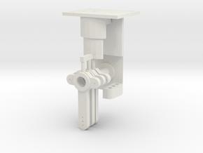 Signal Mech - 3 Arm in White Natural Versatile Plastic