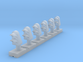 Dwarf 2 Light (x06) Z scale in Smooth Fine Detail Plastic