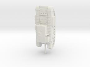 1/200 churchill gun carrier  in White Natural Versatile Plastic