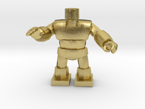Dragon Quest Golem 1/60 miniature for games andRPG in Natural Brass