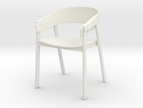 Printle Thing Chair 04 - 1/24 in White Natural Versatile Plastic