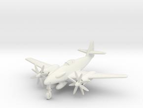 (1:144) Messerschmitt Me 262 A-5 Turboprop in White Natural Versatile Plastic