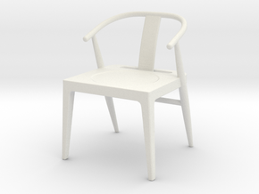 Printle Thing Chair 10 - 1/24 in White Natural Versatile Plastic