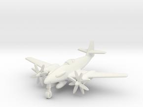 (1:200) Messerschmitt Me 262 A-5 Turboprop in White Natural Versatile Plastic