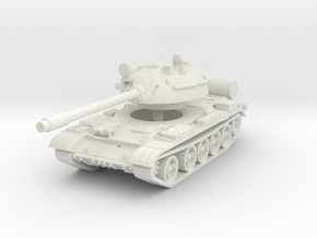 T55 Tank 1/100 in White Natural Versatile Plastic