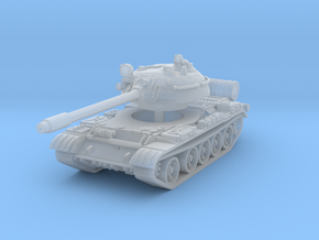 T55 Tank 1/220 in Smooth Fine Detail Plastic