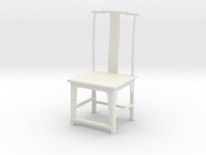 Printle Thing Chair 014 - 1/24 in White Natural Versatile Plastic