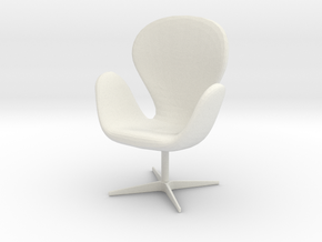 Printle Thing Chair 015 - 1/24 in White Natural Versatile Plastic