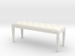 Printle Thing Chair 018 - 1/24 in White Natural Versatile Plastic