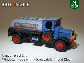 Delahaye Type 85 Camion citerne (N 1:160) in Frosted Ultra Detail