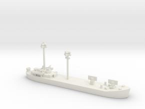 landing ship tank 1/600 fdt Fighter Direction Tend in White Natural Versatile Plastic