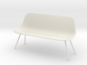 Printle Thing Chair 021 - 1/24 in White Natural Versatile Plastic