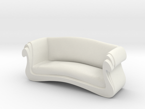 Printle Thing Chair 022 - 1/24 in White Natural Versatile Plastic