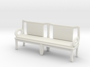 Printle Thing Chair 024 - 1/24 in White Natural Versatile Plastic