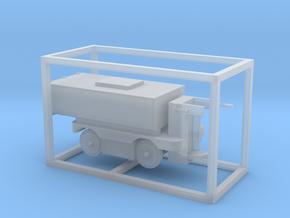 E-Karren Müllwagen V2 - 1:120 TT in Smooth Fine Detail Plastic