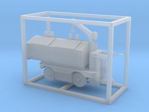 E-Karren Müllwagen V1 mit Kran - 1:120 TT in Smooth Fine Detail Plastic