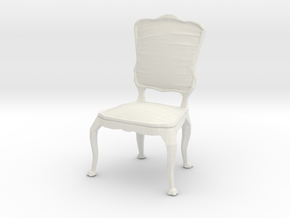 Printle Thing Chair 026 - 1/24 in White Natural Versatile Plastic