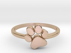 PawPrint Ring  in 14k Rose Gold