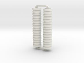 Slimline Pro disks lathe in White Natural Versatile Plastic