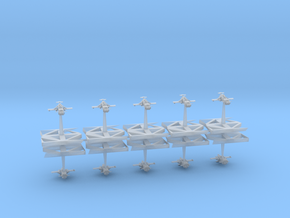 War Hawks - Concept B  in Smooth Fine Detail Plastic