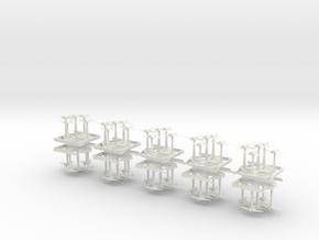 Interceptor Fury - Concept E  in White Natural Versatile Plastic