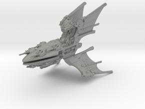 Eldar Capital Ship - Concept 1  in Gray PA12