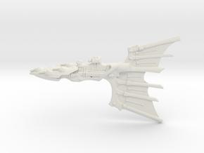 Eldar Cruiser - Concept 2 in White Natural Versatile Plastic