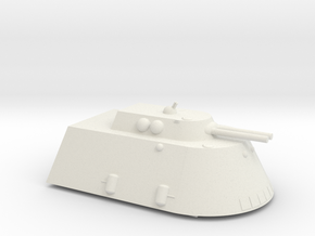 Behemoth Mk 1 Super Heavy Grav Multi-Role AFV 25mm in White Natural Versatile Plastic