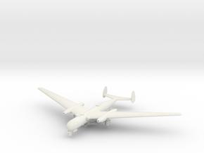1/200 Messerschmitt P.1075 in White Natural Versatile Plastic