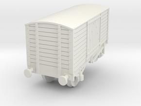 ps100-115-box-van-wagon in White Natural Versatile Plastic