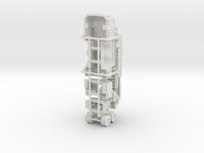 1/64 Pierce Ascendant Mid Mount Body in White Natural Versatile Plastic