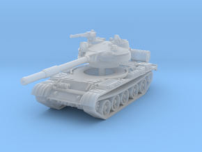 T62 Tank 1/220 in Smooth Fine Detail Plastic