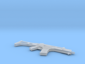 1:6 Miniature Heckler & Koch G36C Assault Rifle in Smooth Fine Detail Plastic