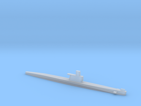 1/2400 Scale Romeo Russian Submarine Waterline in Smooth Fine Detail Plastic