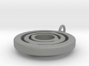 "Rotating Suspension ""Orbit"" in Gray PA12: Large"