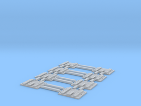 S scale (any gauge) code 55 single-throw rail head in Smoothest Fine Detail Plastic