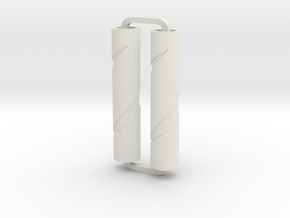 Slimline Pro spiral 08 ARTG in White Natural Versatile Plastic