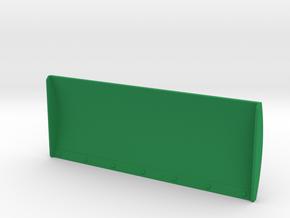 1/87 Schiebeschild K-700A 4m in Green Processed Versatile Plastic: 1:87 - HO