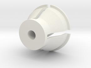 Airsoft magazine unloader in White Natural Versatile Plastic