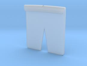 Tesla Hood Emblem Template in Smooth Fine Detail Plastic