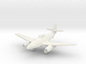 (1:144) Messerschmitt Me 262 V3 in White Natural Versatile Plastic