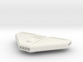 1/1000 Mk.3 Torpedo Pod in White Premium Versatile Plastic